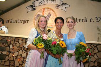 Die drei Siegerinnen Magdalena Schönberger, Marina Schnitzenbaumer und Michaela Kirchberger (v.l.)